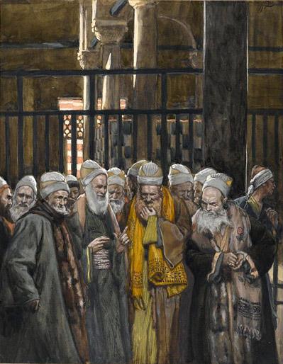 Pintura lideres religiosos judíos